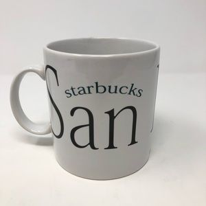 1994 Starbucks Cup San Diego City Mug Coffee Mug